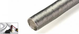 Aluminum foil corrugated conduit