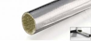 Aluminum heat reflect fiberglass sleeving