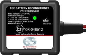EGE Battery Desulfator R onditioner reduce CO2 footprint