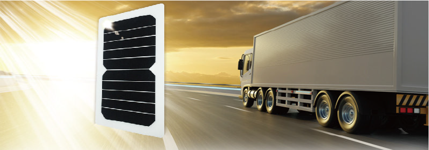 Solar Panel Commercial Vehicle Truck