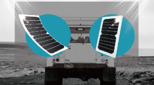 Solar Panel Commercial Vehicle