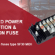 Power Distribution and 8-Position Fuse housing for Bolt down fuses