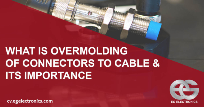 overmolding of connectors to cable
