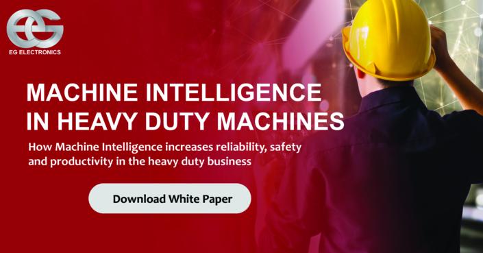 Machine intelligence in heavy duty industry